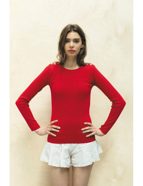 "Pull ""Kador"" rouge"