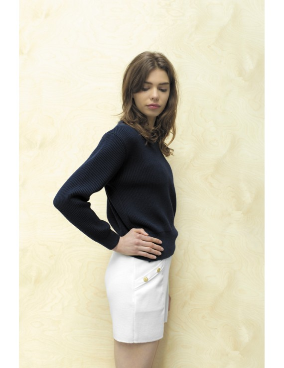 Armel le cléac'h pull 100% mérinos made in bretagne maille
